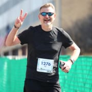 Scott Firth, 2020 3M Half Ambassador, runs the 2019 Ascension Seton Austin Marathon.