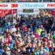 Image of hundreds of finishers crossing the 2019 3M Half Marathon finish line. Read this blog to get everything you need for the 2020 3M Half Marathon.