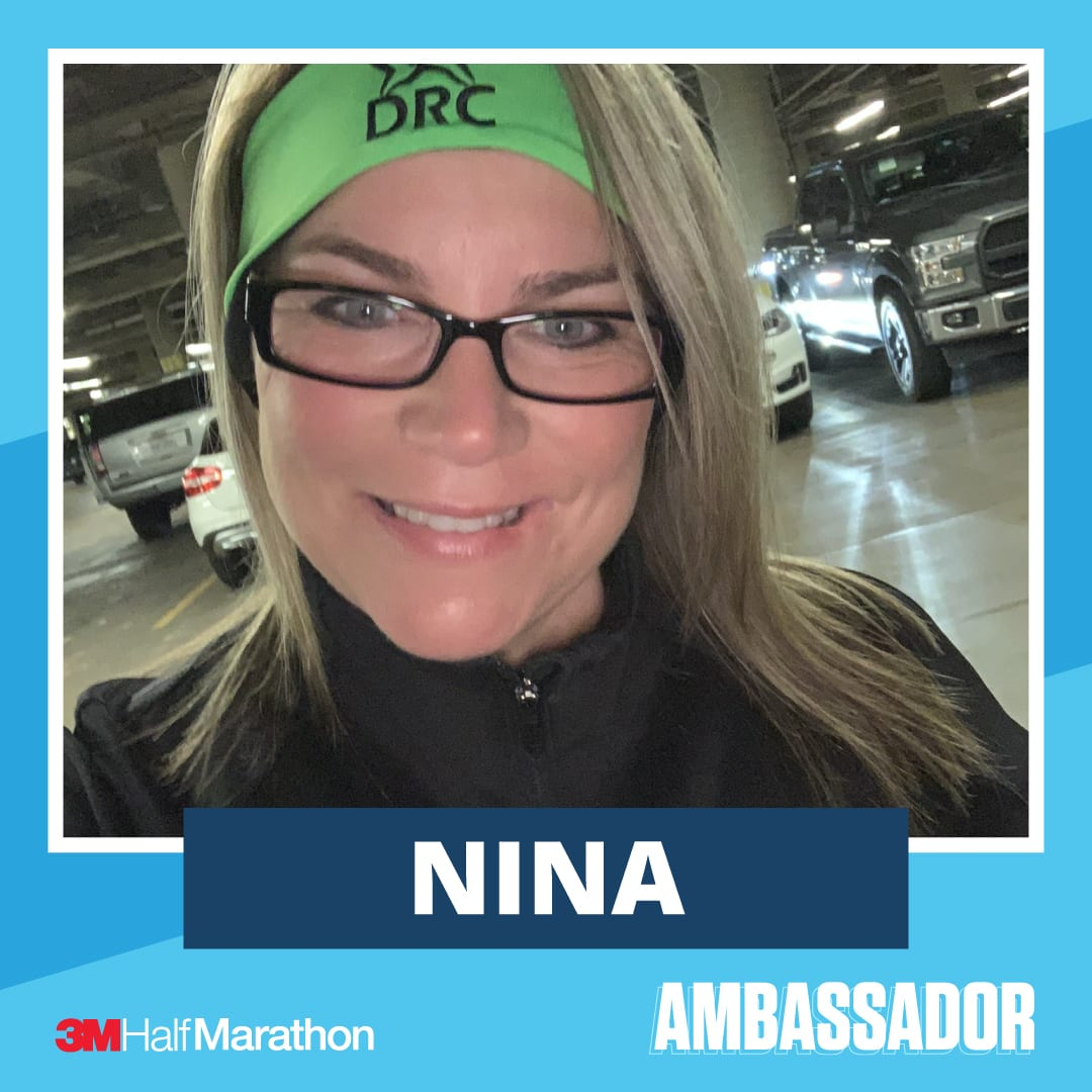 Nina - 2021 3M Half Marathon Running Ambassador