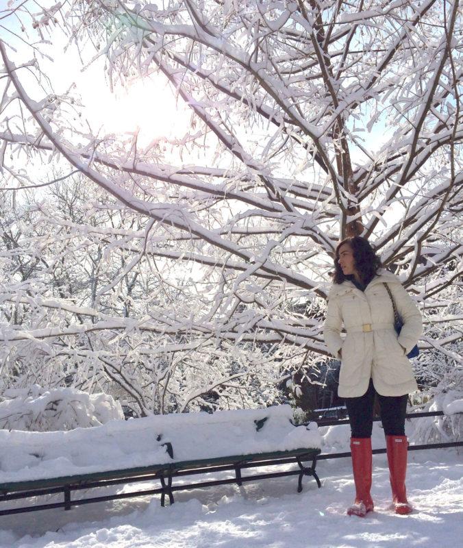 What I Wore: Winter Wonderland