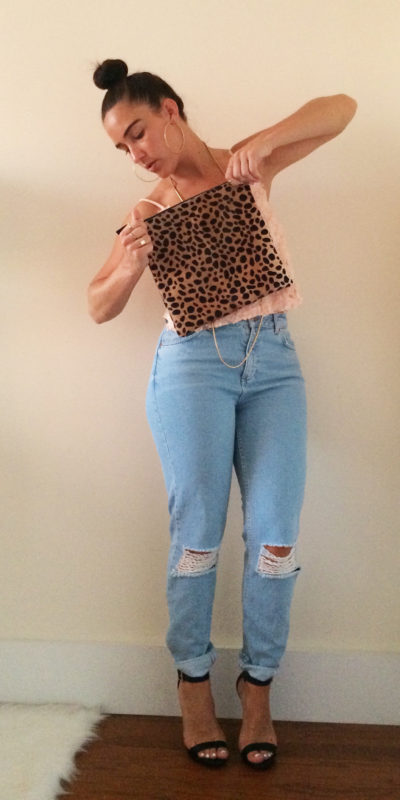 boyfriend-ripped-jeans-rosette-cropped-top-2