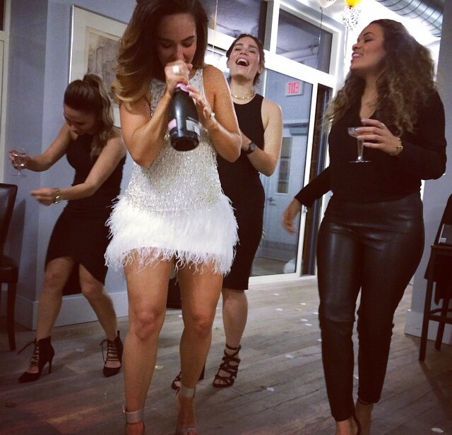 birthday-behavior-all-white-feather-skirt-embellished-beaded-top-7