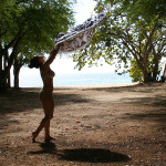 dominican-republic-shaking-out-towel