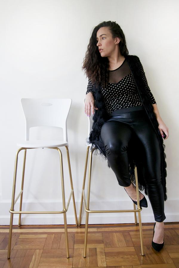 diy-bar-stools-turned-gold