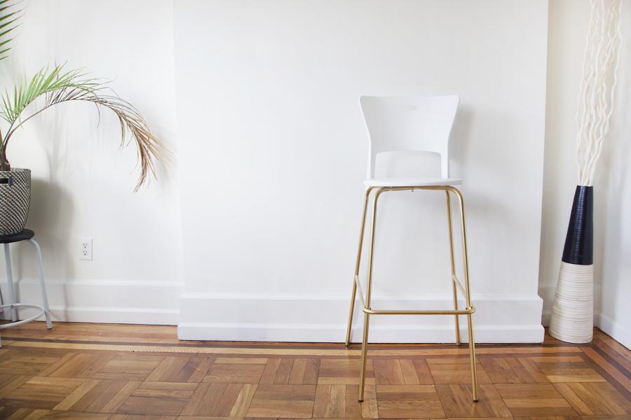 gold-bar-stool-diy-project
