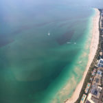 aerial-view-turquoise-water-miami-florida