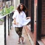 green-silk-pants-white-zara-poplin-dress-ootd-fashion-blogger-6