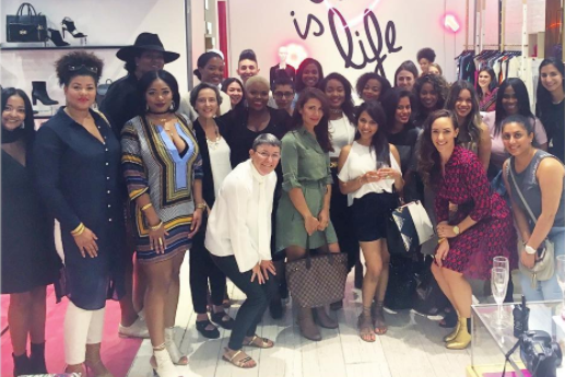 If Trump Won't Support Women, I will! [Women Supporting Women Influencer Event at DVF]