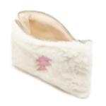 White Fur Clutch