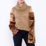 fur-sleeve-sweater-