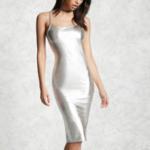 short-silver-dress