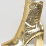 metallic-gold-boot