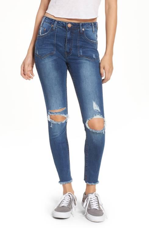 Freebirds-ripped-high-waist-jeans