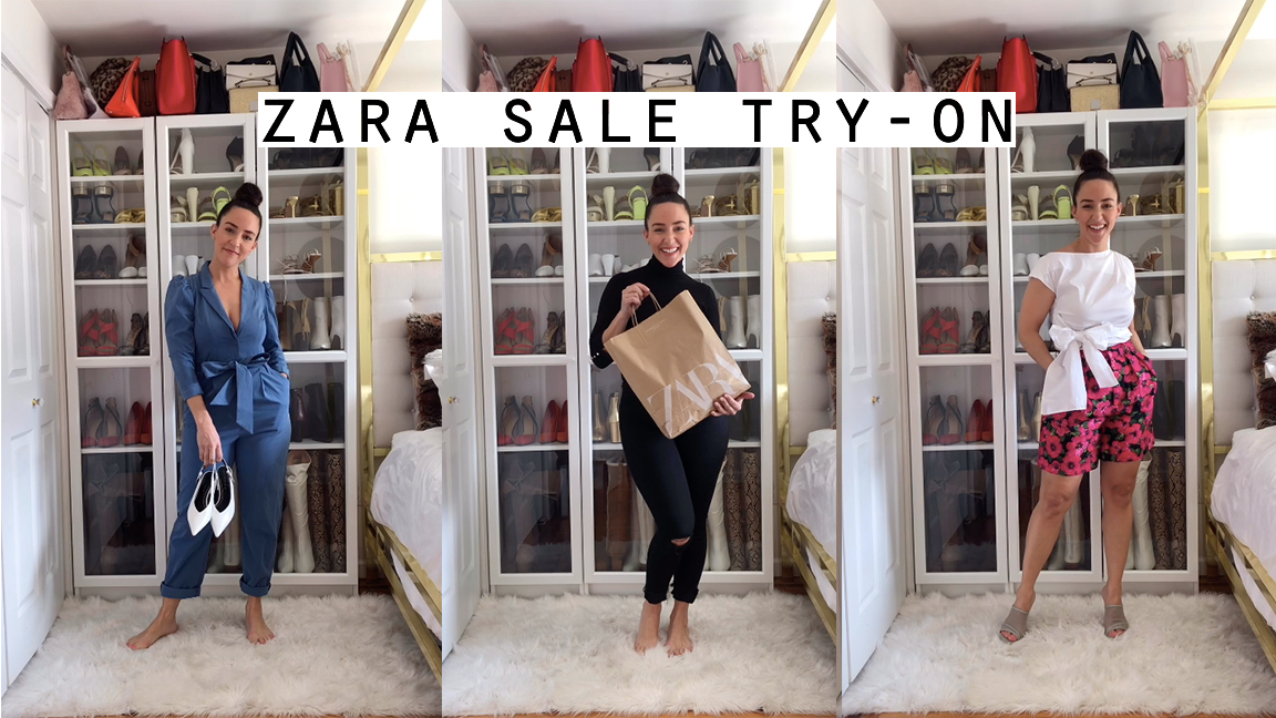 zara try on