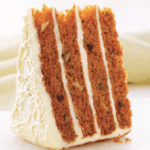 Four High Carrot Cake
