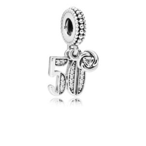 50th Celebration Dangle Charm