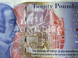 adam smith 20 pound note