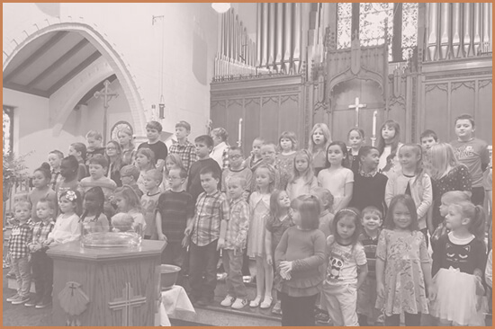 East Side Lutheran Church Serve In Worship Kids Choir Photo