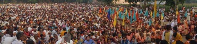 Radha Rani Braja Yatra 2014 Barsana Day 1