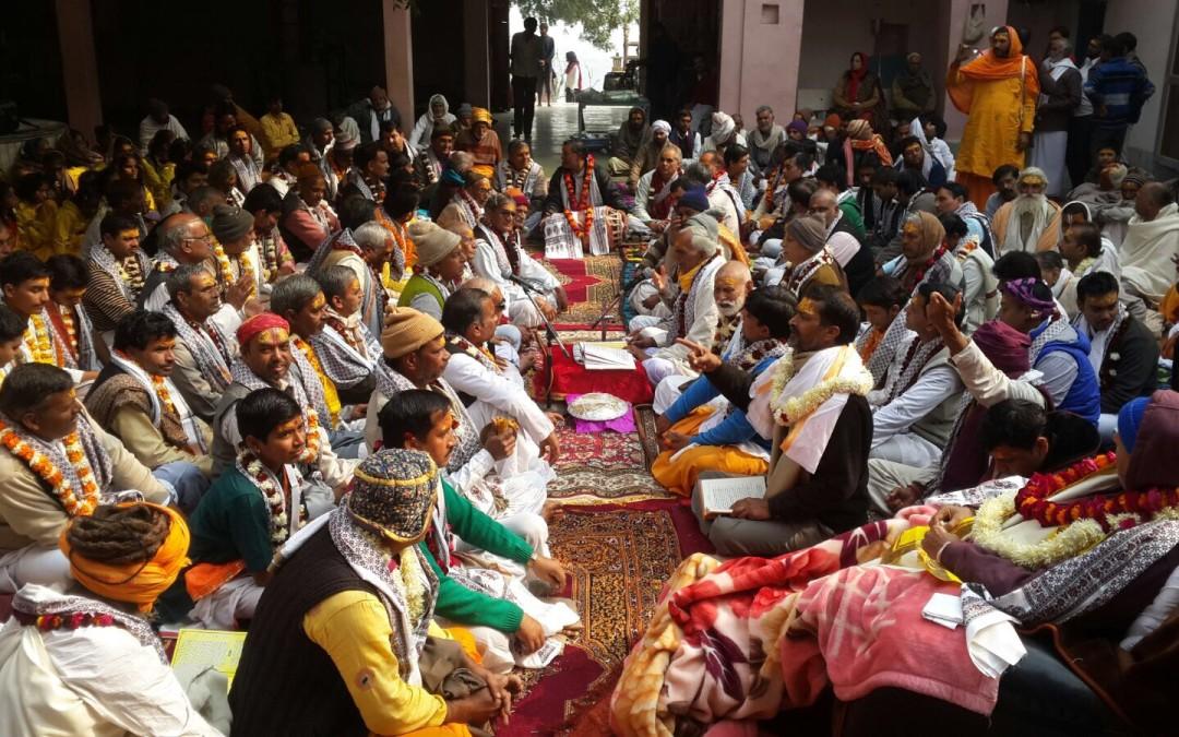 २३ दिसंबर २०१५ को मान मंदिर पर पाटोत्सव आयोजन