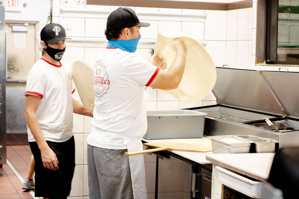 Making pizza magic!