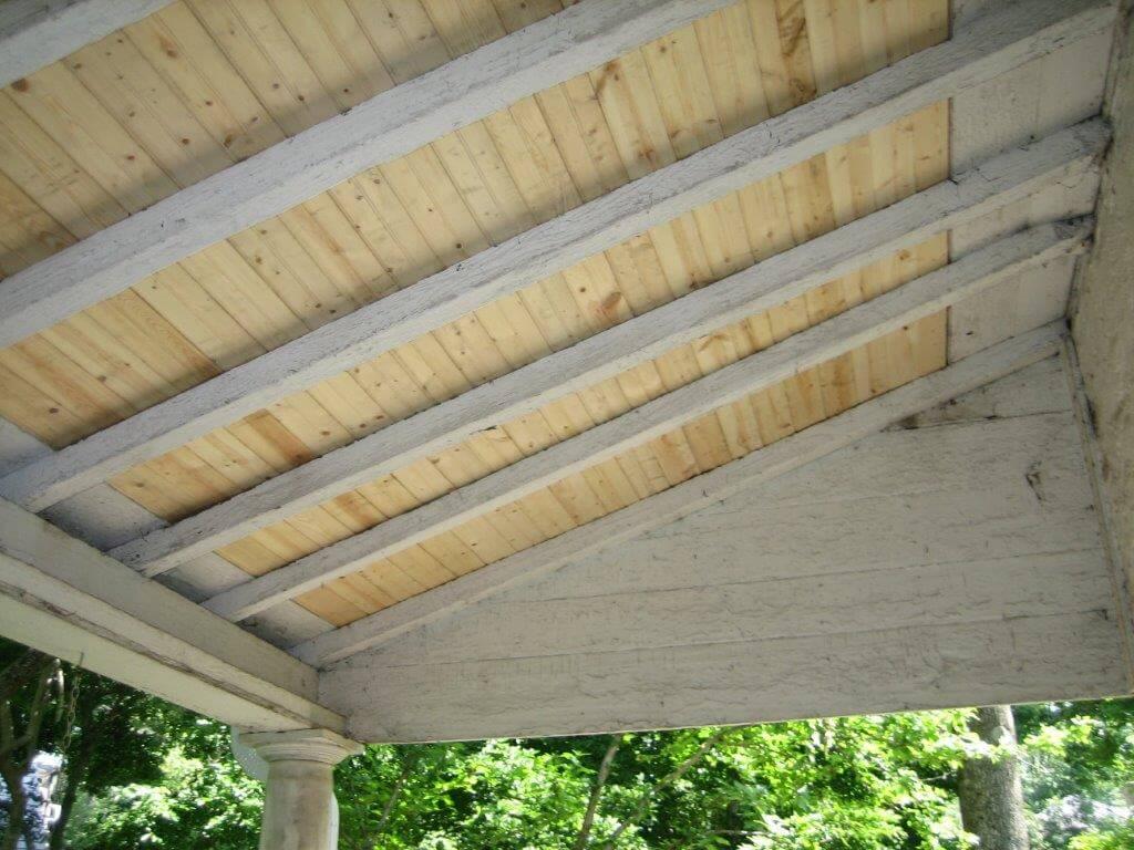 Carpentry Porch Ceiling
