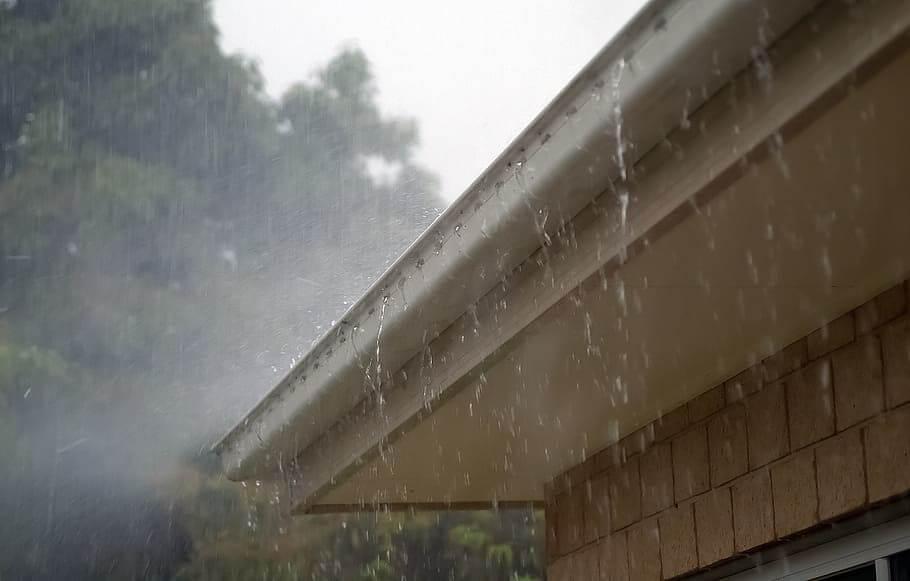 Rain and Gutter