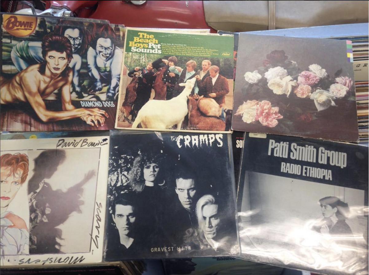 tons of great vinyl at spin records petaluma