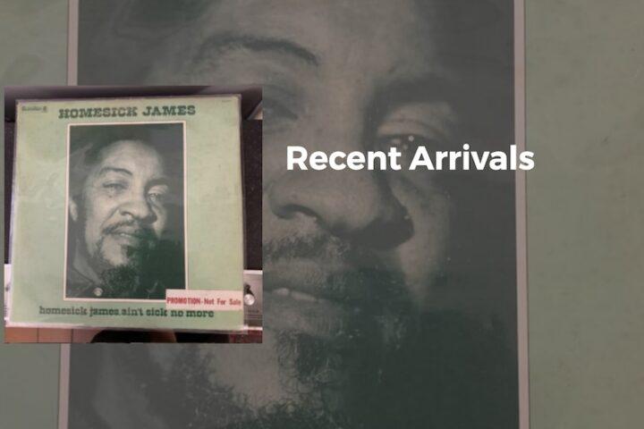 used blues record by homesick james at spin records petaluma