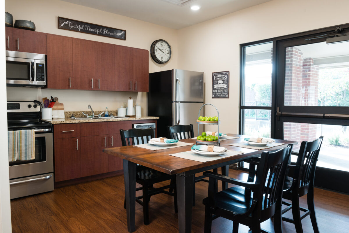 therapy kitchen