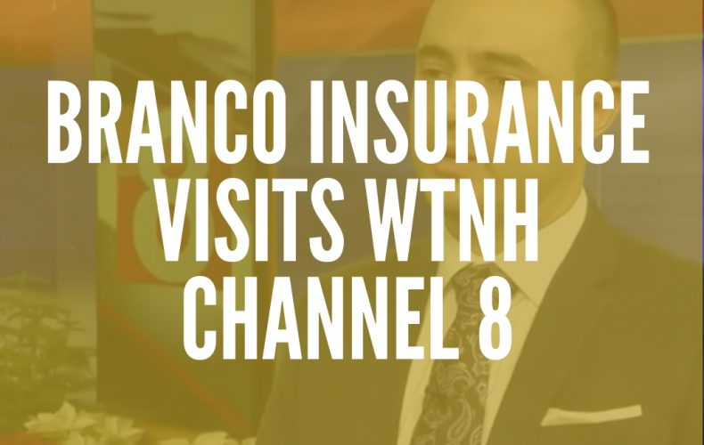 Branco Insurance Group Visits WTNH Channel 8
