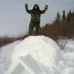 Showing the Strength of an Igloo