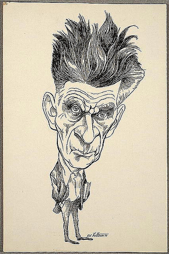 samuel beckett photo