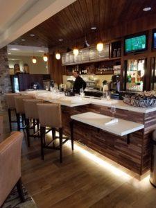 Sedona, AZ- Courtyard by Marriott- Custom Millwork- Bar Area