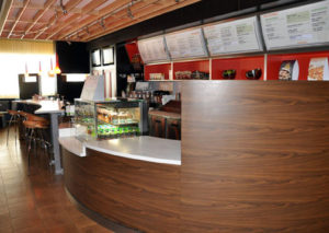 Photo of commercial millwork for a Deli in Glenwoods Springs