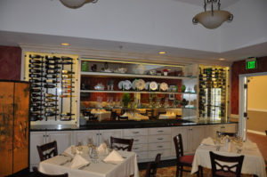 Custom commercial millwork for the dining area of Wine Country Inn in Palisade