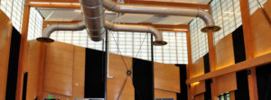 Commercial millwork at the Castle Creek Music School in Aspen
