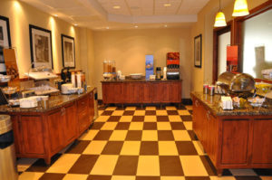 Photo of commercial millwork for a hotel in Moab, U