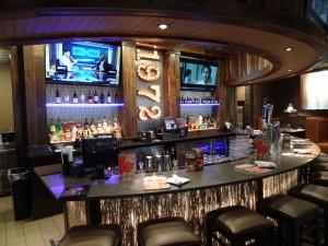Photo of custom made bar in Ruby Tuesday