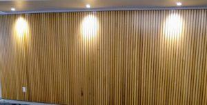 rift sawn red oak Slat Walls