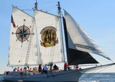 Sailing in Destin Florida