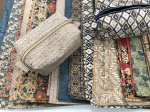 Virtual Class: Cork Zippered Box Pouch Workshop @ Zoom Meeting - Details to be emailed