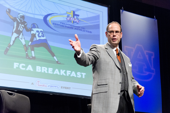 My coverage of the Chick-fil-A Peach Bowl FCA Breakfast