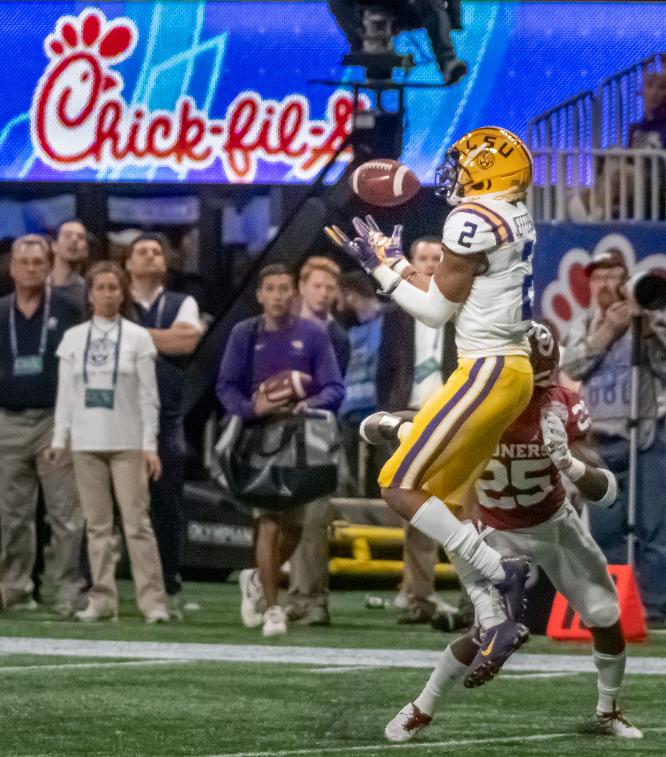 Covering the Chick-fil-A Peach Bowl from a Brand Perspective