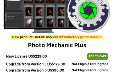 Photo Mechanic Plus: Now Available!