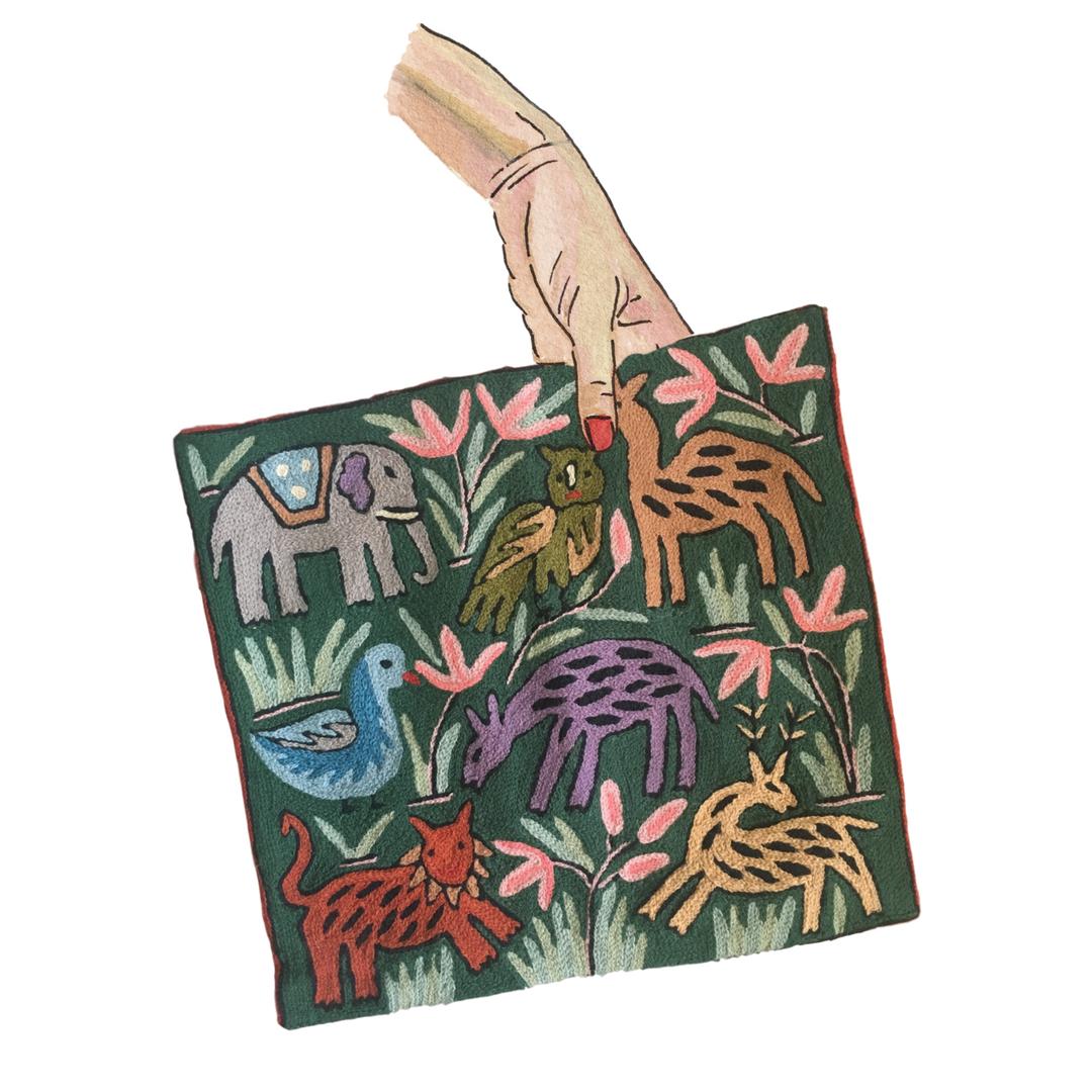 Jungle Pillowcase