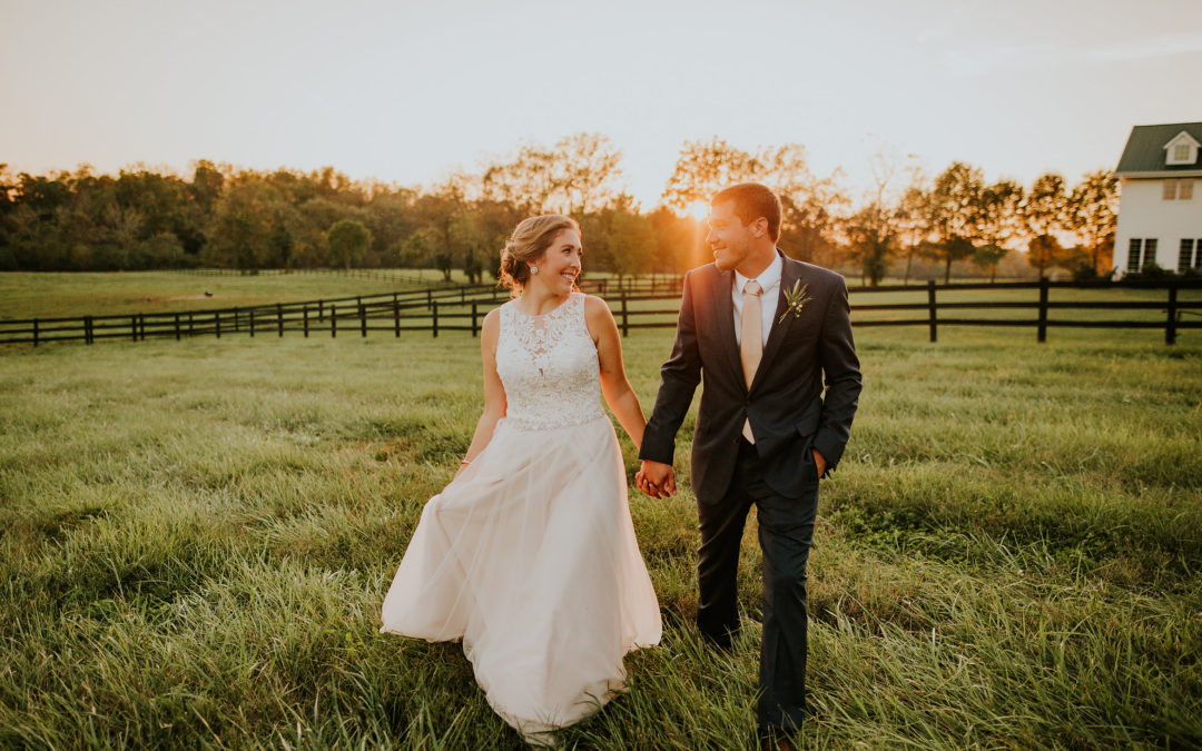 Andrew + Kelli Williams: Falling for Floral