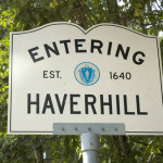 Entering Haverhill