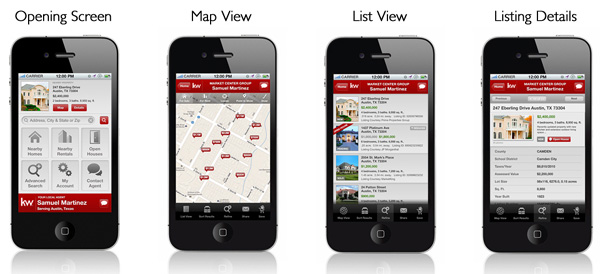 Mobile Search App - Keller Williams Realty