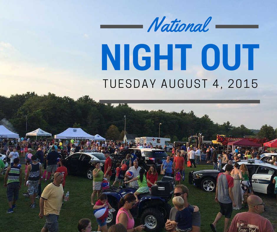 National Night Out in North Andover MA